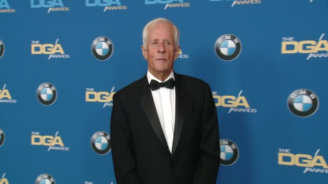 stockvideo's en b-roll-footage met michael apted at the 70th annual dga awards at the beverly hilton hotel on february 03 2018 in beverly hills california - beverly hilton hotel