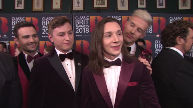 INTERVIEW Michael Auger Jamie Lambert Matthew Pagan Thomas J Redgrave on the new Collabro album musical theatre outfits Michael Ball Alfie Boe Love...