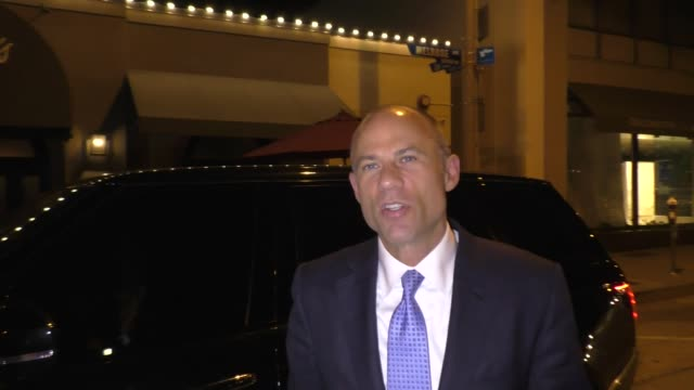 interview michael avenatti talks about stormy daniels donald trump outside craig's restaurant in west hollywood on june 06 2018 - stormy daniels video bildbanksvideor och videomaterial från bakom kulisserna