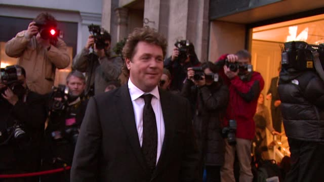 Michael Ball at the The Laurence Olivier Awards at the Grosvenor House in London on March 9 2008