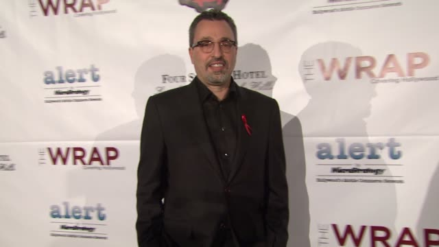 michael barnathan at thewrap.com pre-oscar party on 2/22/2012 in beverly hills, ca. - oscar party stock videos & royalty-free footage