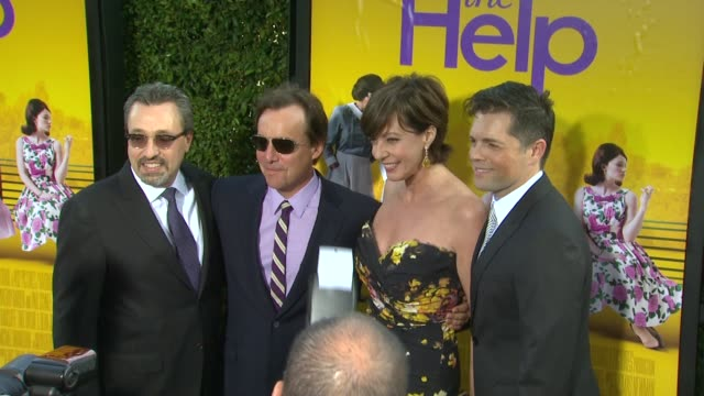 Michael Barnathan Chris Columbus Allison Janney Brunson Green at the 'The Help' Los Angeles Premiere at Beverly Hills CA