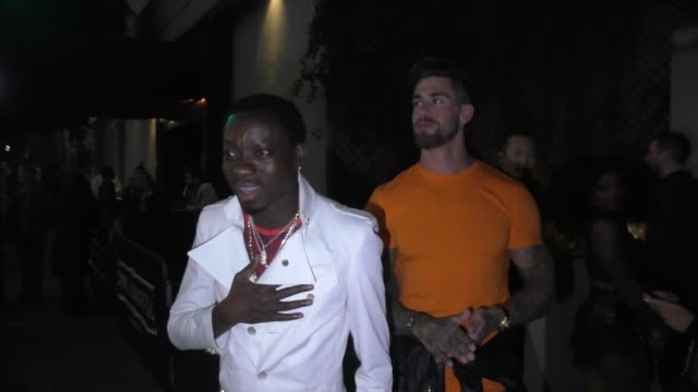 INTERVIEW Michael Blackson talks about fighting Kevin Hart outside Argyle Nightclub in Hollywood in Celebrity Sightings in Los Angeles