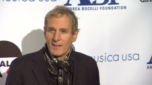 Michael Bolton at Andrea Bocelli Foundation's 2011 Benefit Gala on 12/9/2011 in Beverly Hills CA