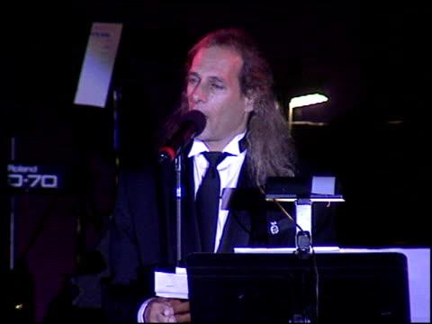 michael bolton at the american cinema awards at the biltmore hotel in los angeles, california on november 2, 1996. - 1996 stock videos & royalty-free footage