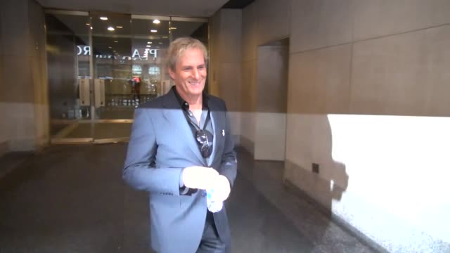 Michael Bolton at the 'TODAY' show studio Michael Bolton at the 'TODAY' show studio on January 30 2013 in New York New York