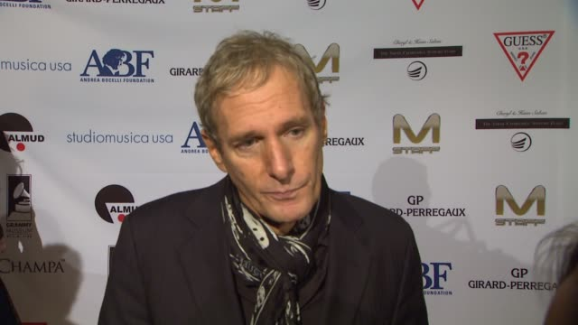 Michael Bolton on being a part of the night what he appreciates about Andrea Bocelli and the work that the Andrea Bocelli Foundation is doing what...