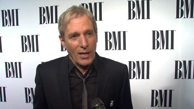 INTERVIEW Michael Bolton on BMI and advice to aspiring songwriters at the 63rd Annual BMI Pop Awards at the Beverly Wilshire Four Seasons Hotel on...