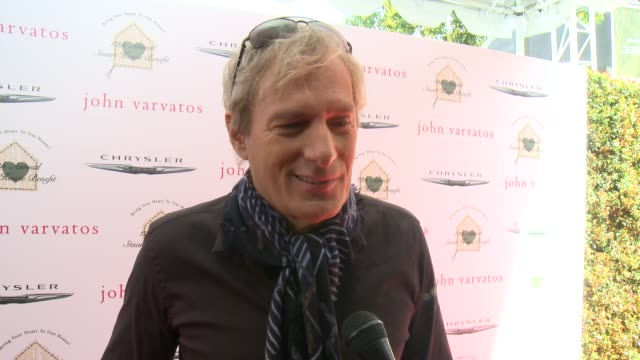 INTERVIEW Michael Bolton on the event and on John Varvatos at The John Varvatos 12th Annual Stuart House Benefit With Honorary Chair Chris Pine...