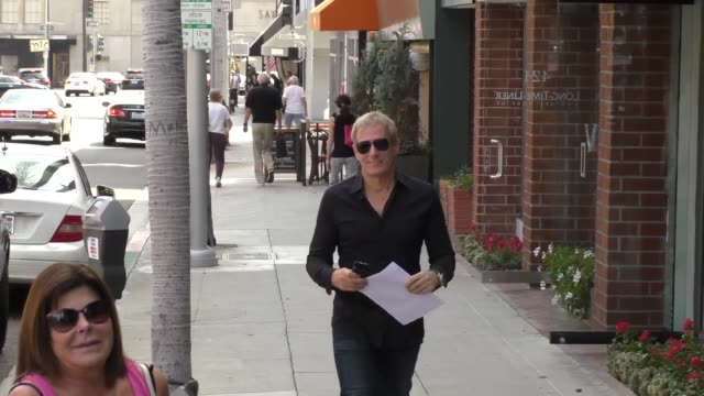 Michael Bolton shopping on Bedford in Beverly Hills at Celebrity Sightings in Los Angeles on September 21 2015 in Los Angeles California