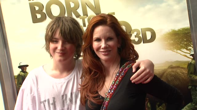 michael boxleitner and melissa gilbert at the 'born to be wild 3d' premiere at los angeles ca. - melissa gilbert stock videos & royalty-free footage