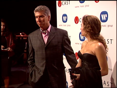 michael buffer at the warner brothers grammy awards party at pacific design center in west hollywood, california on february 13, 2005. - pacific design center stock videos & royalty-free footage