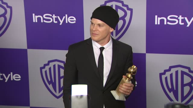 vídeos y material grabado en eventos de stock de michael c hall at the warner bros and instyle golden globe afterparty at beverly hills ca - warner bros