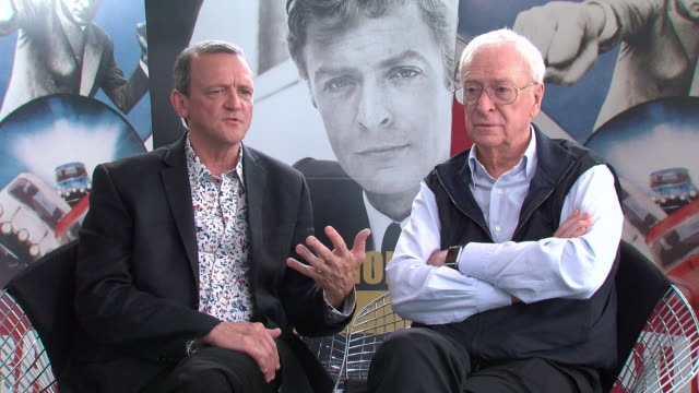 michael caine, david batty on the british class system, how britain no longer relies on the middle classes and how the working class began to evolve... - 俳優 マイケル・ケイン点の映像素材/bロール
