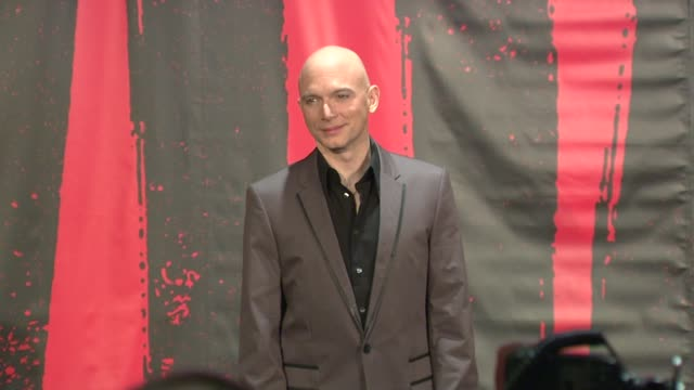michael cerveris at evita broadway revival curtain call and press conference on in new york - michael cerveris stock videos and b-roll footage