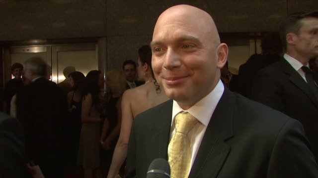 michael cerveris on the relief of being a presenter rather than a nominee what makes the tony awards special and who he is routing for tonight at the... - michael cerveris stock videos and b-roll footage
