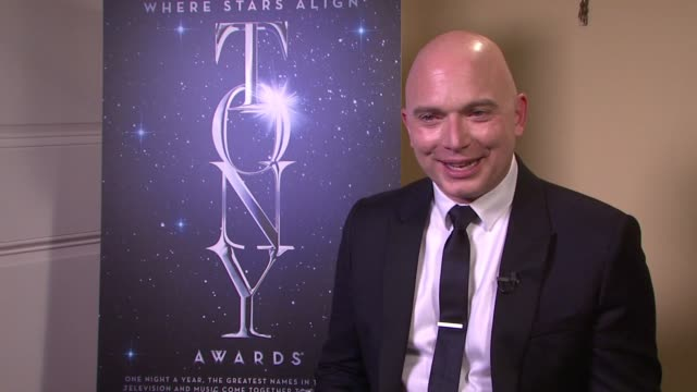 interview michael cerveris says he should've written down an acceptance speech on receiving 108 text messages upon winning on the musical he is... - michael cerveris stock videos and b-roll footage