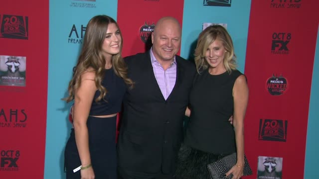 """michael chiklis at """"american horror story: freak show"""" los angeles premiere at tcl chinese 6 theatres on october 05, 2014 in hollywood, california. - michael chiklis stock videos & royalty-free footage"""