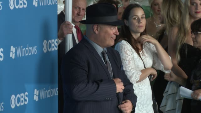 michael chiklis at cbs 2012 fall premiere party on 9/18/2012 in west hollywood, ca. - michael chiklis stock videos & royalty-free footage