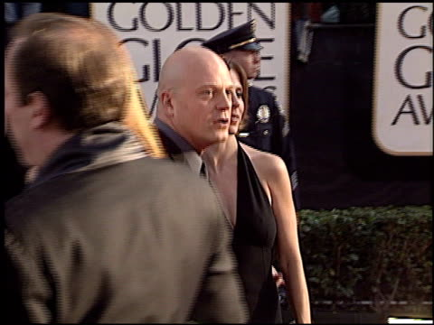 michael chiklis at the 2003 golden globe awards at the beverly hilton in beverly hills, california on january 19, 2003. - michael chiklis stock videos & royalty-free footage
