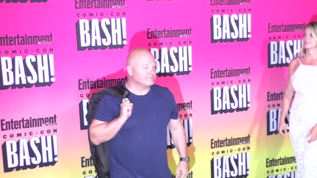 michael chiklis at the entertainment weekly san diego comic con party - michael chiklis stock videos & royalty-free footage