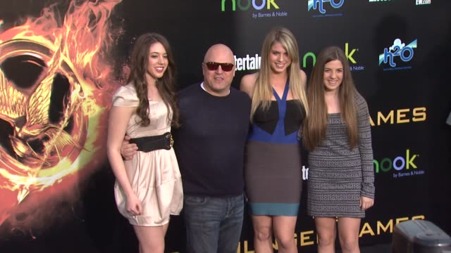 michael chiklis at the hunger games world premiere on 3/12/2012 in los angeles, ca. - michael chiklis stock videos & royalty-free footage