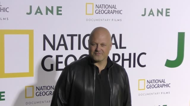 michael chiklis at the premiere of national geographic documentary films' 'jane' at the hollywood bowl on october 09, 2017 in los angeles, california. - michael chiklis stock videos & royalty-free footage