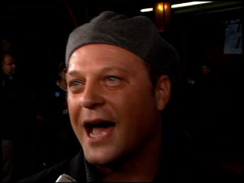michael chiklis at the 'soldier' premiere at grauman's chinese theatre in hollywood, california on october 21, 1998. - michael chiklis stock videos & royalty-free footage