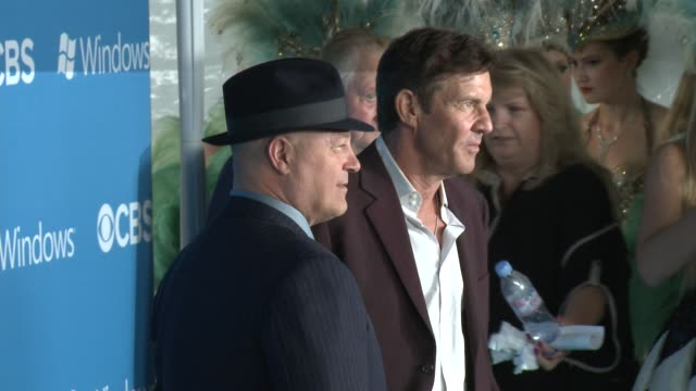 Michael Chiklis Dennis Quaid at CBS 2012 Fall Premiere Party on 9/18/2012 in West Hollywood CA