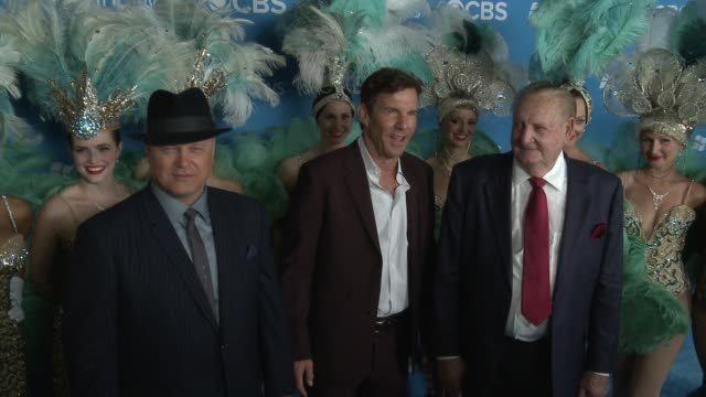 Michael Chiklis Dennis Quaid Ralph Lamb at CBS 2012 Fall Premiere Party on 9/18/2012 in West Hollywood CA