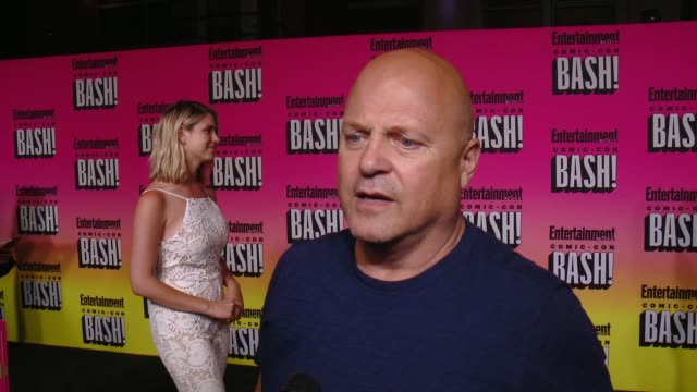 michael chiklis on his comic-con experience and why he wanted to celebrate the last night with ew at entertainment weekly hosts annual comic-con... - michael chiklis stock videos & royalty-free footage
