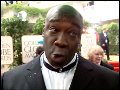 michael clarke duncan at the 2000 golden globe awards at the beverly hilton in beverly hills, california on january 23, 2000. - michael clarke duncan stock videos & royalty-free footage