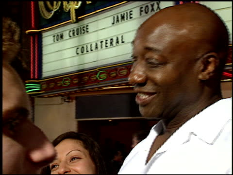 michael clarke duncan at the 'collateral' premiere at orpheum theatre in los angeles, california on august 2, 2004. - michael clarke duncan stock videos & royalty-free footage