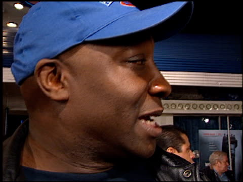 michael clarke duncan at the 'exit wounds' premiere on march 13, 2001. - michael clarke duncan stock videos & royalty-free footage