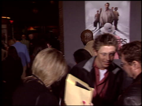 michael clarke duncan at the premiere of 'the ladykillers' at the el capitan theatre in hollywood, california on march 12, 2004. - michael clarke duncan stock videos & royalty-free footage