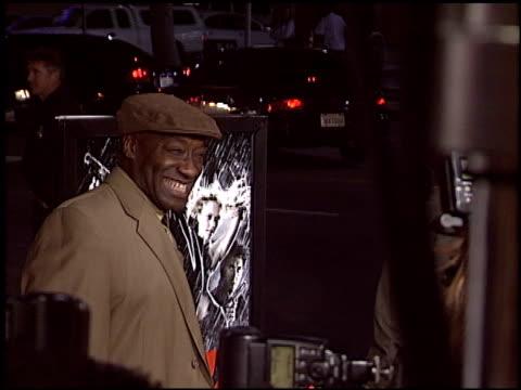 vídeos de stock, filmes e b-roll de michael clarke duncan at the 'sin city' premiere on march 28 2005 - 2005