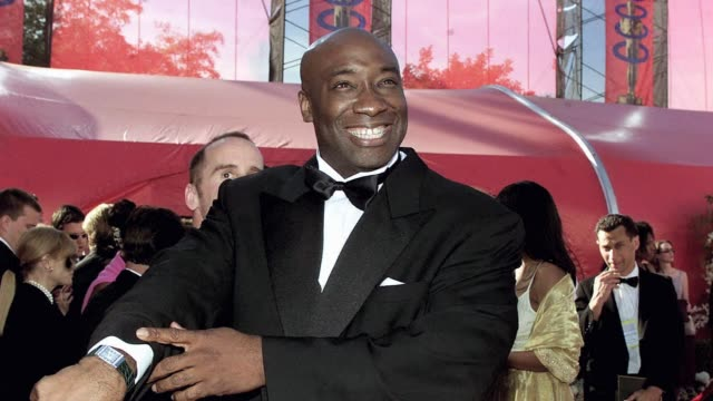 michael clarke duncan, who was nominated for an academy award for his role in the green mile, an adaptation of a stephen king novel, died on monday... - michael clarke duncan stock videos & royalty-free footage