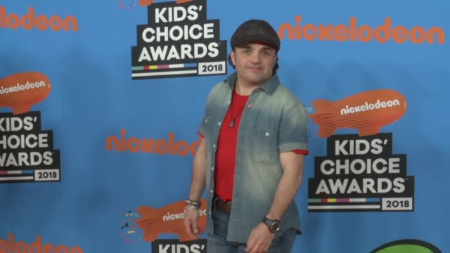 michael cohen at the nickelodeon's 2018 kids' choice awards at the forum on march 24 2018 in inglewood california - 31st annual nickelodeon kids' choice awards stock videos and b-roll footage