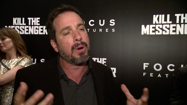 interview michael cuesta on directing the film at kill the messenger new york premiere presented by focus features at museum of modern art on october... - anweisungen geben stock-videos und b-roll-filmmaterial