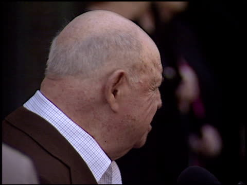 michael d eisner at the dedication of regis philbin's hollywood walk of fame star at hollywood boulevard in hollywood california on april 10 2003 - regis philbin stock videos and b-roll footage