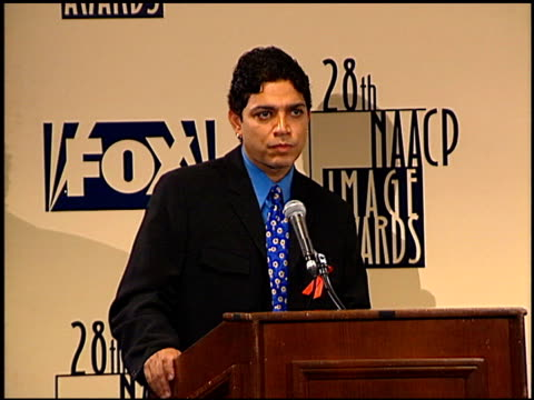 michael delorenzo at the naacp 28th annual image awards on february 8 1997 - naacp stock videos & royalty-free footage