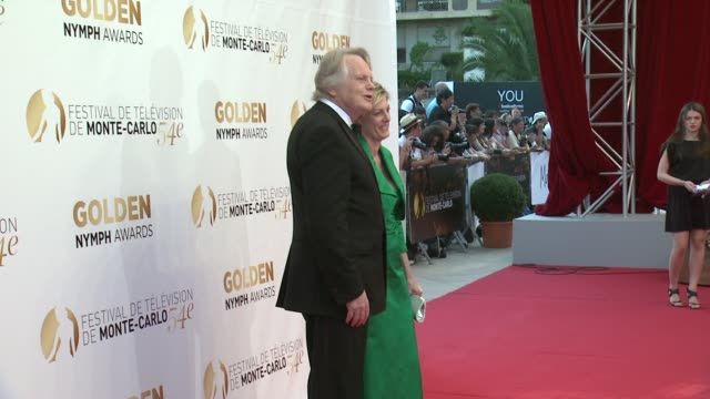 stockvideo's en b-roll-footage met michael dobbs at the 54th montecarlo television festival day 5 on june 11 2014 in montecarlo monaco - michael dobbs