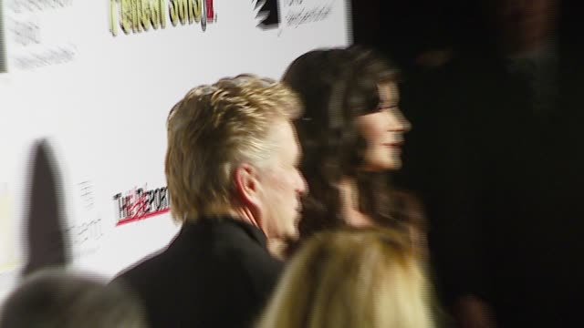 michael douglas and catherine zeta-jones at the 'a fine romance' event celebrating the love affair between hollywood and broadway at sunset gower... - michael douglas stock videos & royalty-free footage