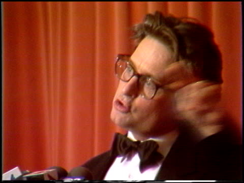 michael douglas at the 1988 golden globe awards at the beverly hilton in beverly hills, california on january 23, 1988. - michael douglas stock videos & royalty-free footage