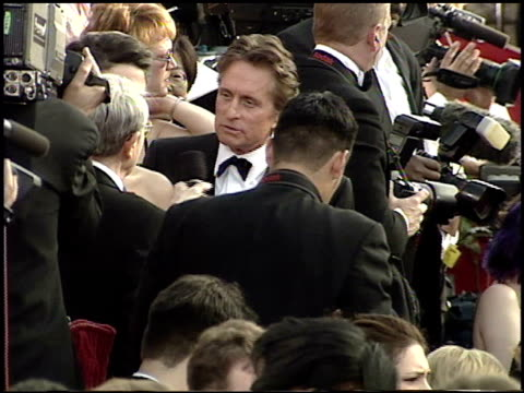 Michael Douglas at the 2001 Academy Awards at the Shrine Auditorium in Los Angeles California on March 25 2001