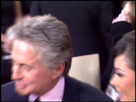michael douglas at the 2004 golden globe awards at the beverly hilton in beverly hills, california on january 25, 2004. - michael douglas stock videos & royalty-free footage