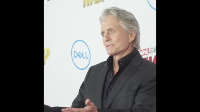 Michael Douglas at the AntMan and the Wasp World Premiere