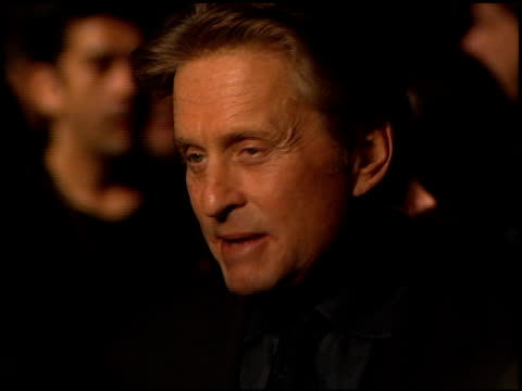 michael douglas at the 'wonder boys' premiere at paramount studios in hollywood california on february 22 2000 - paramount studios stock videos and b-roll footage