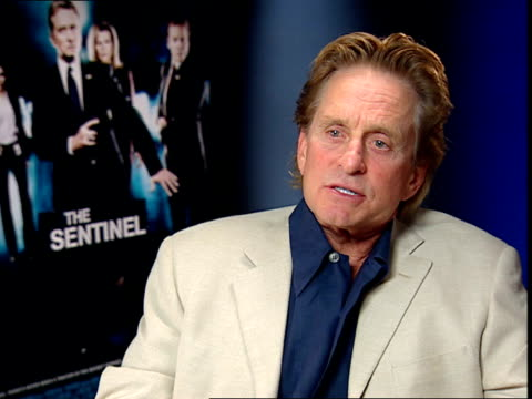 michael douglas interview; - you have knowledge, expression youth is wasted on the young / i have 28 year old son from my first marriage, when he was... - michael douglas stock videos & royalty-free footage