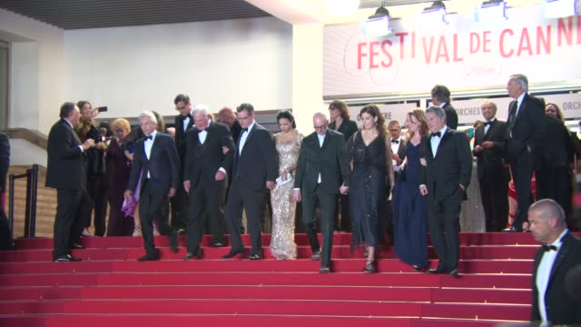 Michael Douglas Jerry Weintraub Matt Damon Richard LaGravenese at 'La Grande Bellezza' Red Carpet 5/21/2013 in Cannes France